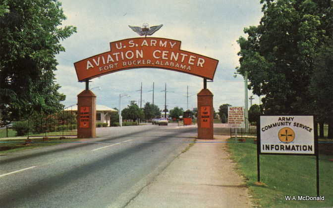 Ft. Rucker Gate