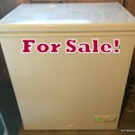 Five cubic foot freezer