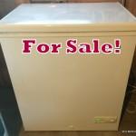 Five cubic foot freezer