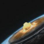 Population devastating meteor impact